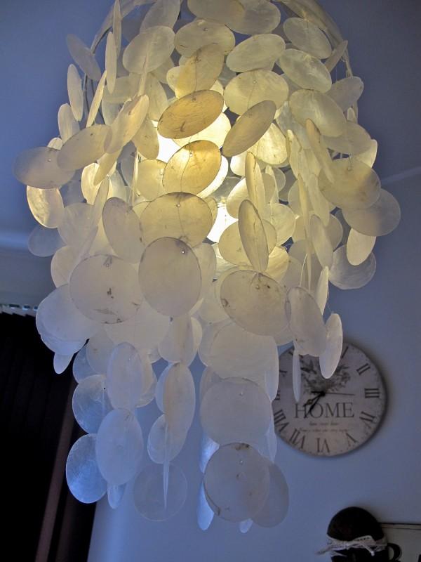 Skjell lampe kremmerhuset