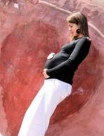 Gravid-kvinne