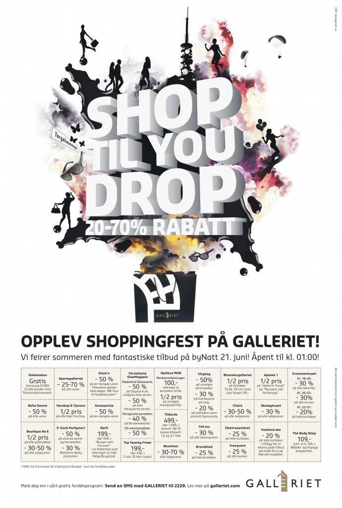 byNATT Nattåpent i sentrum torsdag 31. oktober by