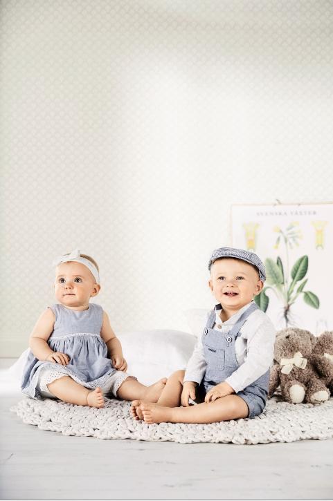 Sommerklær til smårollingene