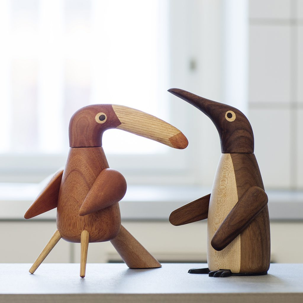 The Pepper Bird and The Salt Penguin kitchen Spring Copenhagen