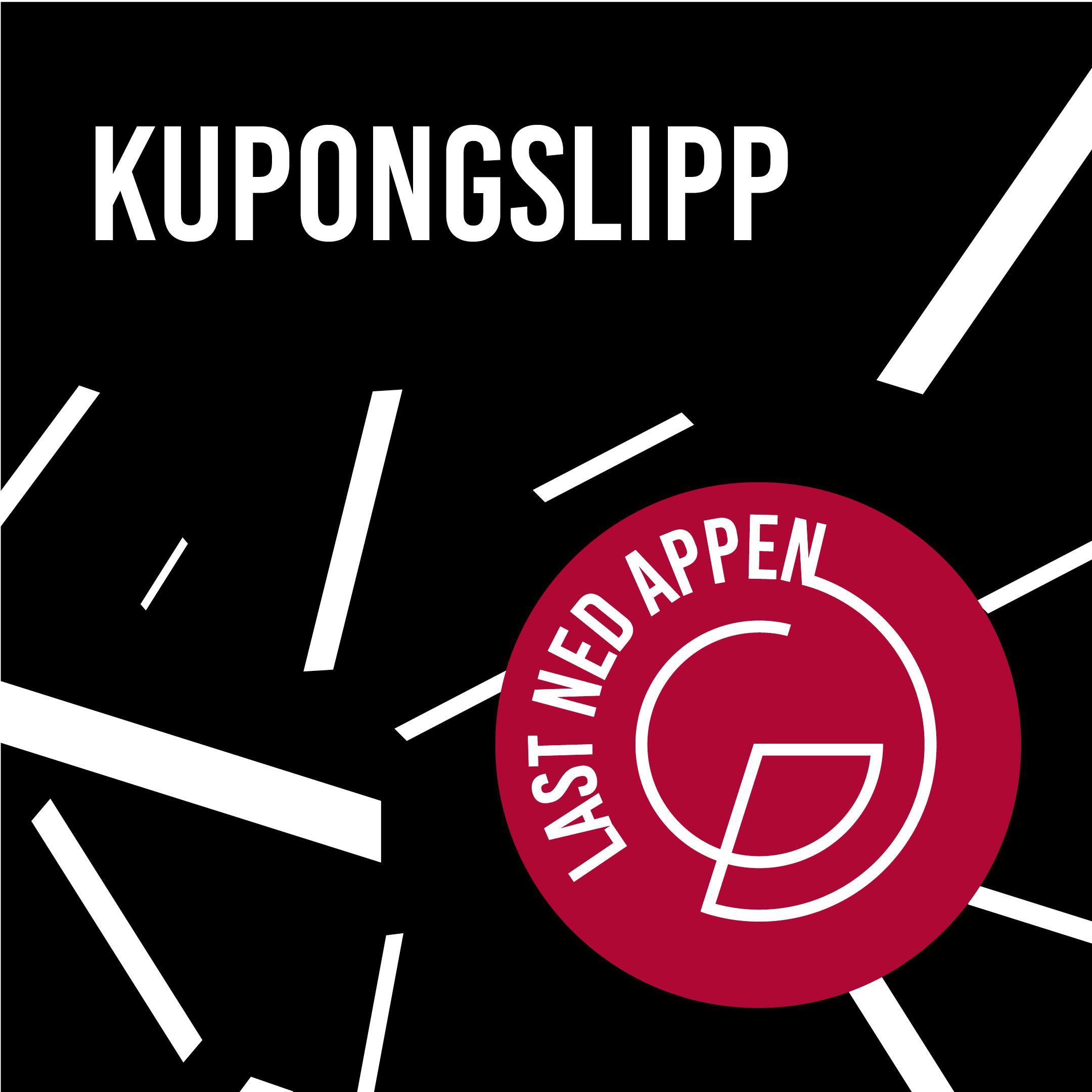 Last ned Galleriets app for kupongtilbud
